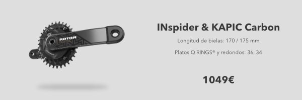 pack Inspider y Kapic Carbon MTB Rotor