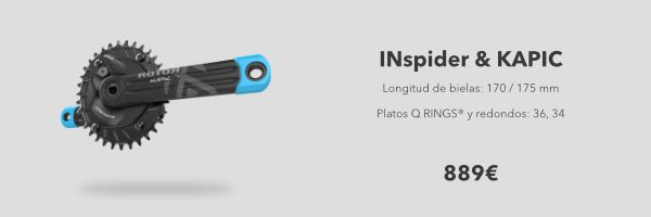 pack Inspider y Kapic MTB Rotor