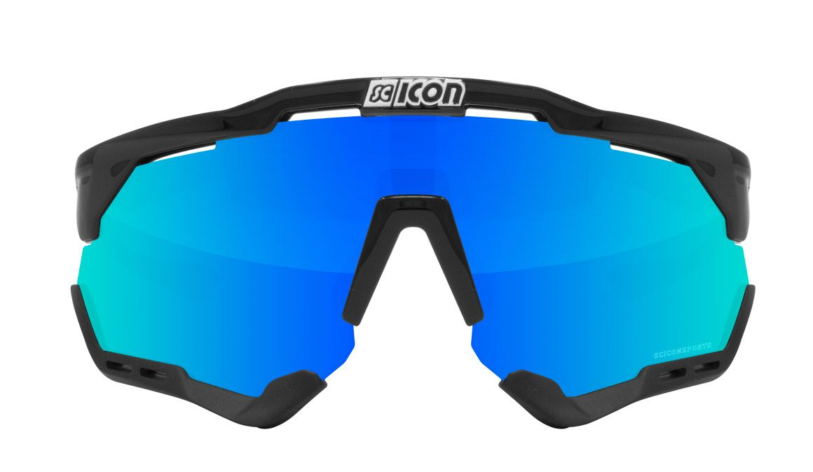 Scicon Aeroshade Black BLUE front