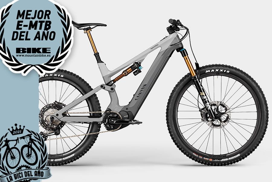 e MTB Año 2021 Canyon spectral on cf 9